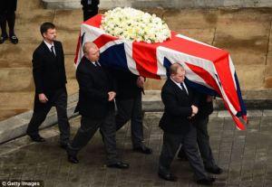 thatcher's coffin