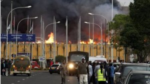 JKIA on fire