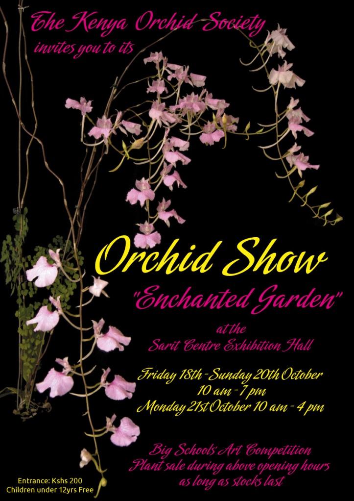Kenya-Orchid-Society-Poster