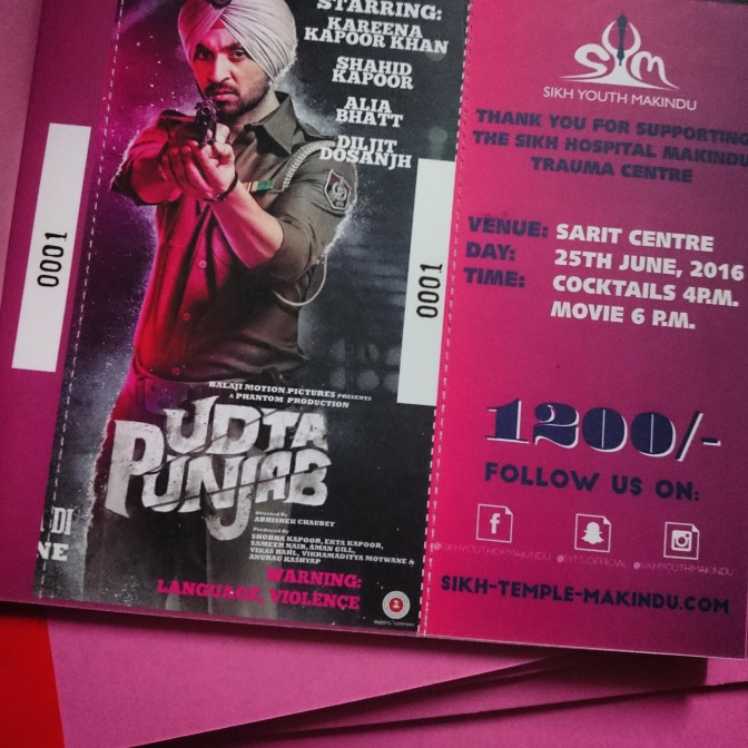 Charity Show for Udta Punjab